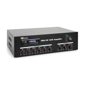 PBA120 100V Amplificador 120W USB/SD MP3 Bluetooth