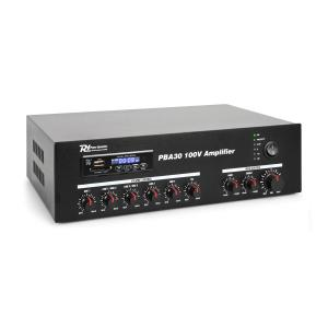 PBA30 Amplificateur sono DJ 100V USB SD MP3 Bluetooth 30W 30 W
