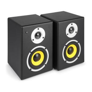 PDSM4 Set de altavoces 2x60W negro