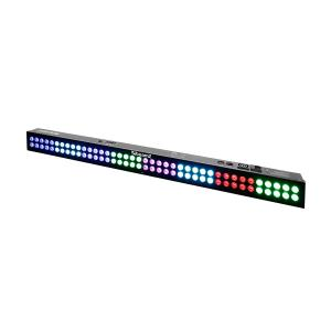 LCB803 LED Bar 80x 3W 3-in-1 LEDs DMX / Standalone Mode 120W Black