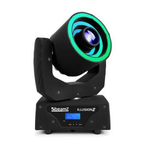 Illusion 2 30W LED wit 3in1 SMD RGB LED-ring DMX / Standalone zwart