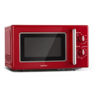 Caroline Microwave Retro Red Red