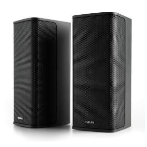 Ambience Impianto Stereo 2.0, 2 x 60 Watt RMS, Cavo 12 m, nero nero