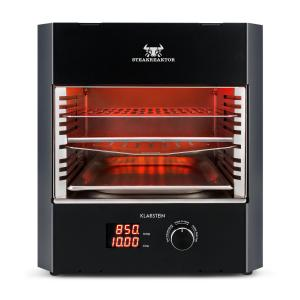 Steakreaktor Pro Indoor Grillgerät Hochtemperaturgrill 3200W 850°C Made in Germany Schwarz