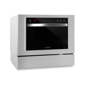 Amazonia 6 Luminance Dishwasher Glass Front Freestanding 1380W White