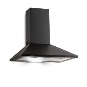 Zugspitze 60 Cooker Extractor Hood Wall Mounted 65W 310m³ / h LED Black