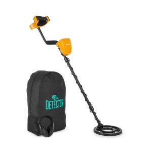 Dr. Jones Metal Detector 5 Modi Ø20cm a 2m Display Backpack Cuffie