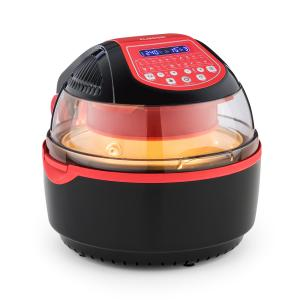 VitAir Turbo S Hot Air Fryer, 1400 W, 10l, 20 Programs, Red Red