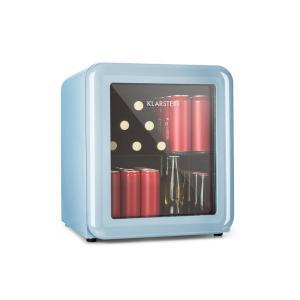 PopLife drankenkoeler koelkast 0-10°C retrodesign blauw Blauw | 48 Ltr
