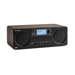 Worldwide CD Internet Radio Spotify Connect App Control Bluetooth Walnut Walnut