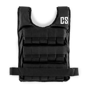Monstervest Weight Vest 25 kg Uni-Size Nylon Black 25 kg