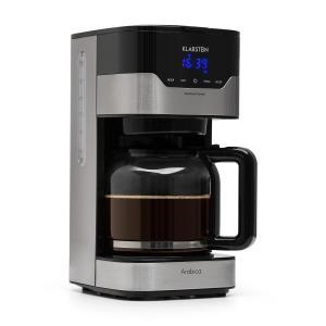 Máquina de Café Arabica 900W Controlo EasyTouch Prateada/Preta 1,5 Ltr