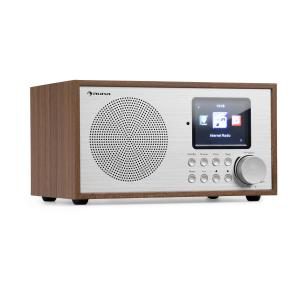 Silver Star Mini radio Internet DAB+/FM WiFi Bluetooth  - bois marron Chêne
