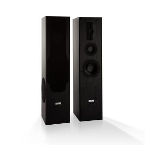 Line E 1005 staande luidspreker 3-weg HiFi luidspreker max. 700 W zwart