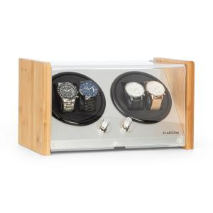 Hanoi 4 Watch Winder, 4 Watches, 3 Speeds, 4 Modes, Bamboo 4 watches