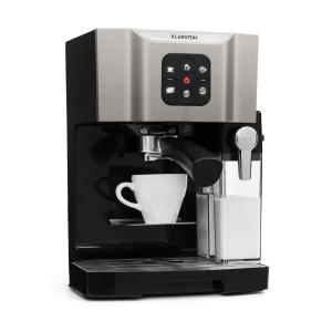 BellaVita koffiezetapparaat, 1450 W, 20 Bar, melkopschuimer, 3in1, grijs Grijs