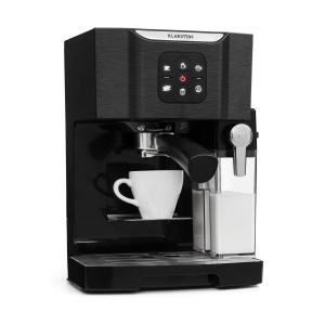 BellaVita Coffee Machine, 1450 W, 20 Bar, Milk Frother, 3-in-1, Black Black