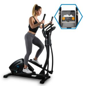 Helix Track Cross Trainer Bluetooth App Massa Volante de 18kg flywheel_18kg