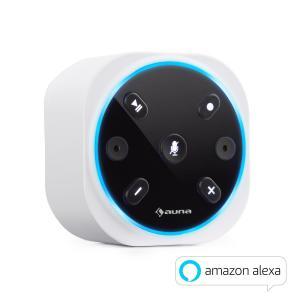 Intelligence Plug głośnik podtynkowy bezprzewodowy Alexa-VoiceControl BT Biały