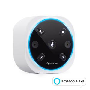 Intelligence Plug draadloze stopcontact luidspreker Alexa VoiceControl BT Wit
