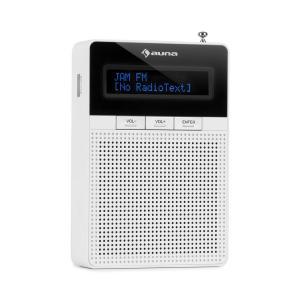 DigiPlug FM Radio FM/AM Bluetooth Display LCD Blanco