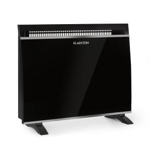 Gotland Glass Convector 600, 900 and 1500W Black
