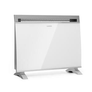 Gotland Convector Heater 600/900 / 1500W Glass Front Stand Unit White
