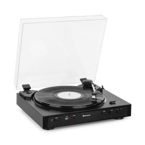 Fullmatic W pełni automatyczny gramofon USB przedwzmacniacz kolor czarny Czarny
