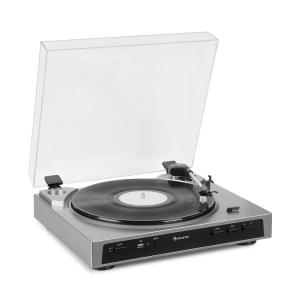 Fullmatic Fully Automatic Turntable USB Preamp Silver Silver