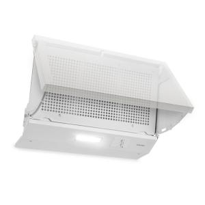 Incognito Cooker Extractor Hood 250m³ / h 60W LED Light White