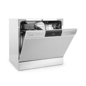 Amazonia 8 Neo Tableware Dishwasher 8 Programmes LED Display Silver Silver
