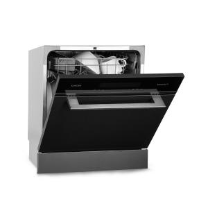Amazonia 8 Myst Built-in Dishwasher 6 Programmes Stainless Steel Black