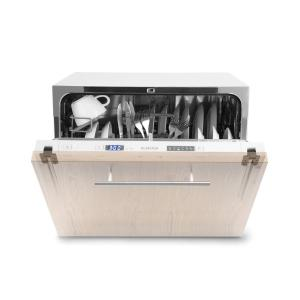 Amazonia 8 Secret Built-in Dishwasher 6 Programmes White