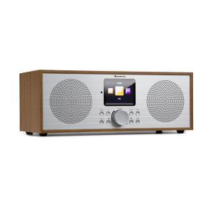 Silver Star Stereo Internet DAB+/FM Radio, WiFi, BT, DAB+/FM, Oak Oak