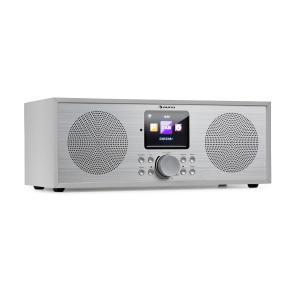 Silver Star Stereo Internet DAB+/FM Radio, WiFi, BT, DAB+/FM, White White