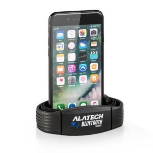 Alatech CS010 opaska sportowa smartwatch tętno Bluetooth 4.0 IPX7 unisex czarna