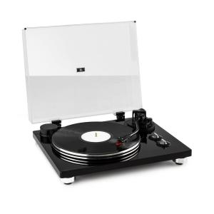 Pure Precision Turntable, Belt Drive, 33 1/3 & 45 RPM, Black