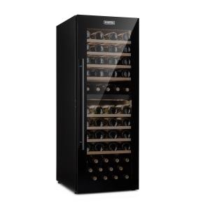Barossa 77 Duo Wine Fridge 2 Zones 191 L 77 Bottles Touch LED Black