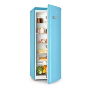 Irene XL Réfrigérateur grand volume 242L Design rétro 4 clayettes Classe A+ - bleu Bleu