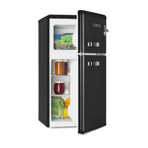 Irene Fridge-Freezer Combination 61 l Fridge 24 l Freezer Black Black