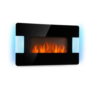 Belfort Light & Fire Electric Fireplace 1000 / 2000W Black Black