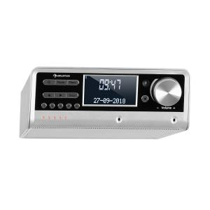 Intelligence DAB+ Küchenradio, Alexa-VoiceControl, Spotify, BT, silber Silber