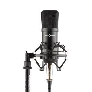 Mic-700 Studio Microphone Ø34mm Uni Schock Mount Windscreen XLR Black Black