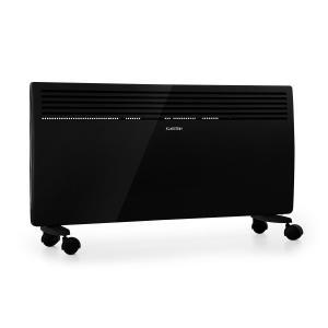 Hot Spot Slimcurve Heater 80x40cm 40m² 2000W 5-40 ° C LED IP24 Black Black