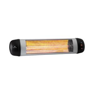 Rising Sun Zenith Radiant Heater 2500W IP34 Remote Control Silver