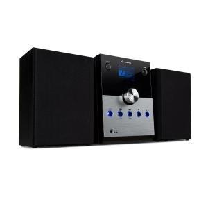 MC-30 zestaw stereo DAB+ Bluetooth pilot srebrny                                                                               Srebrny