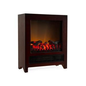Zermatt Electric Fireplace 750/1500 W Thermostat InstFire Wenge Wenge