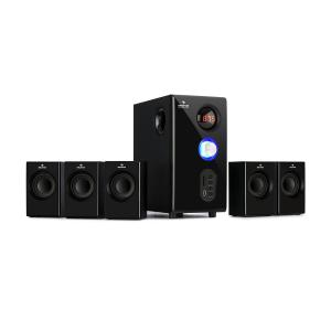 Concept 520 5.1 luidsprekersysteem 75 W RMS OneSide Subwoofer BT USB SD