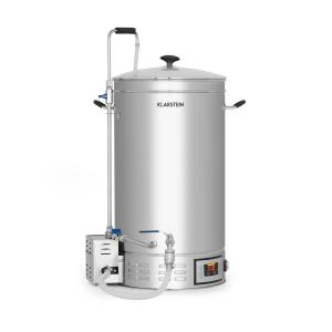 Brauheld 35 Mash Kettle 35 Litres 30-140 ° C Circulating Pump Stainless Steel 35 Ltr