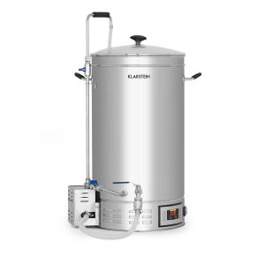 Brauheld Mash Kettle 45 Litres 30-140 ° C Circulating Pump Stainless Steel 45 Ltr